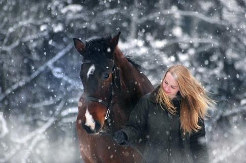 Smarta vinterprylar för häst och ryttare